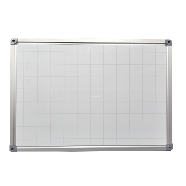 High Quality Grid Magnetic Whiteboard for Planning