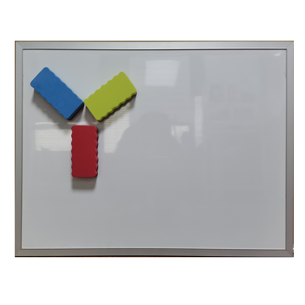 Single Side Dry Erase Aluminium Frame Hang Whiteboard