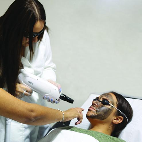 Charcoal Facial Training