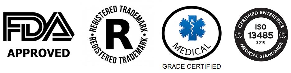 FDA Medi Grade ISO TradeMk