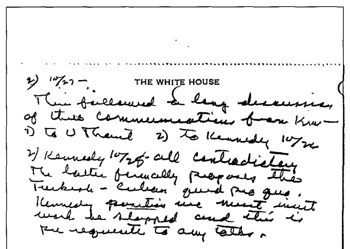 CIA Documents on the Cuban Missile Crisis, 1962