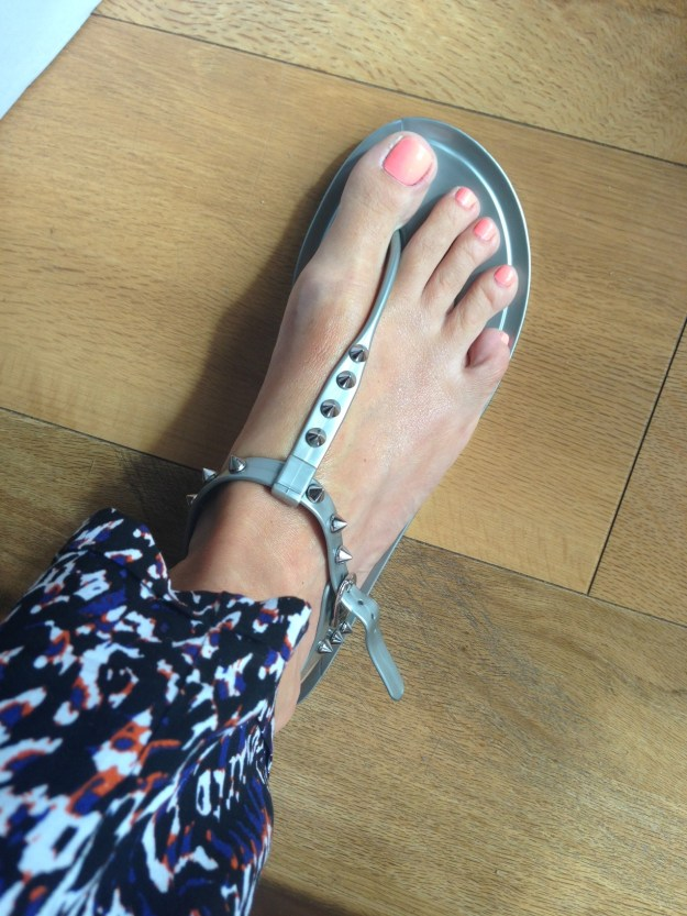 Kurt Geiger silver Moves