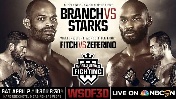 Watch World Series of Fighting 30 Full Show Online Free