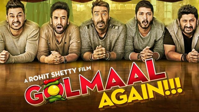 Watch Golmaal Again (2017) Full Movie Online Free Download HD