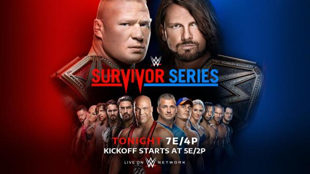 Watch WWE Survivor Series 11/19/2017 Full Show Online Free
