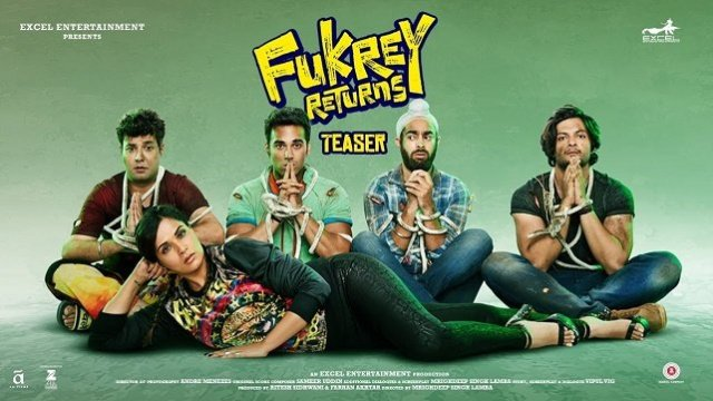 Watch Fukrey Returns (2017) Full Movie Online Free Download HD