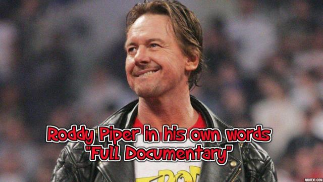 Watch Roddy Piper: In His Own Words 2018 Documentary Full Show Online Free