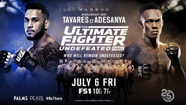 Watch The Ultimate Fighter Undefeated Finale 7/5/2018 Full Show Online Free