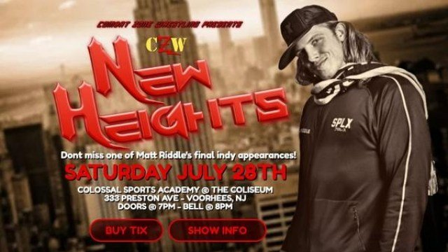 Watch CZW New Heights 7/28/2018 Full Show Online Free