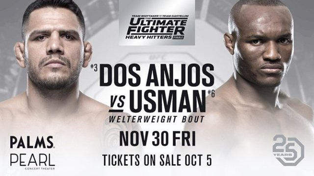 Watch The Ultimate Fighter: Heavy Hitters Finale 11/30/2018 Full Show Online Free