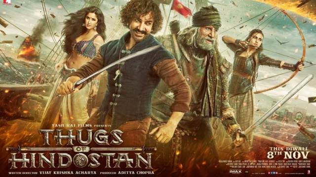 Watch Thugs of Hindostan 2018 Full Movie Online HD Print Free Download