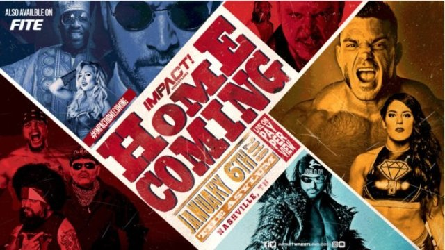 Watch Impact Wrestling Homecoming 1/6/2019 Full Show Online Free