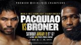 Watch Manny Pacquiao vs. Adrien Broner 1/19/2019 Full Show Online Free