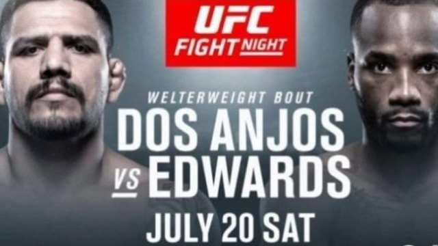 Watch UFC Fight Night: Dos Anjos vs. Edwards 7/20/2019 Full Show Online Free
