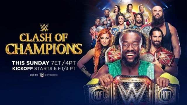 Watch WWE Clash of Champions 2019 Full Show Online Free