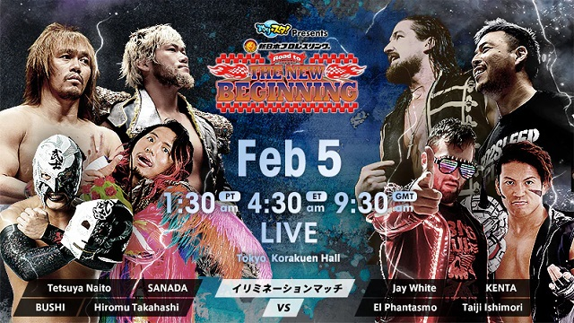 Watch NJPW Road to the NEW BEGINNING 2/5/2020 Full Show Online Free