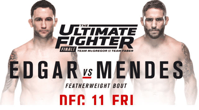 Watch The Ultimate Fighter Season 22 Finale: Edgar vs. Mendes Full Show Online Free