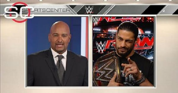 Watch Roman Reigns Interview with ESPN's Jonathan Coachman 12/15/2015 Online Free