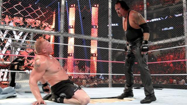 Watch Brock Lesnar vs The Undertaker Hell in a Cell 2015 Match Online Free