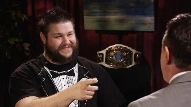 Kevin Owens On Defending His Title In A Ladder Match At WrestleMania