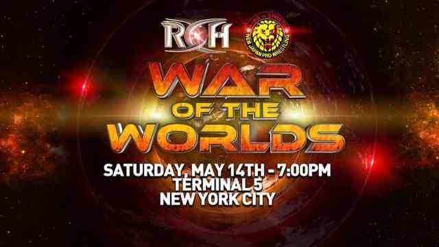 Watch ROH/NJPW War of the Worlds 5/14/2016 NYC Full Show Online Free