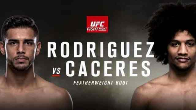 Watch UFC Fight Night 92 : Rodriguez vs Caceres 8/6/2016 Full Show Online Free