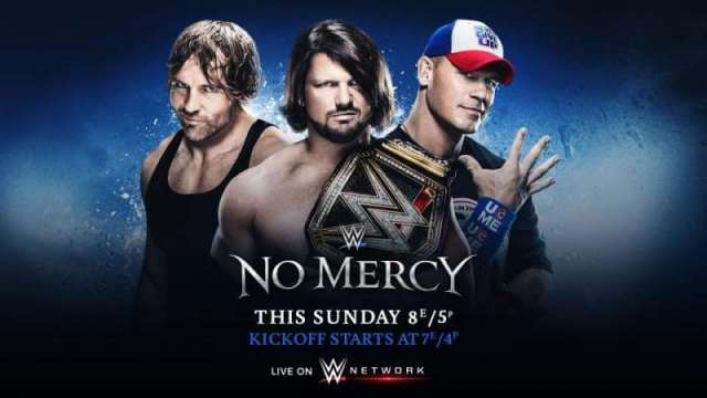 Watch WWE No Mercy 2016 PPV 10/9/2016 Full Show Online Free