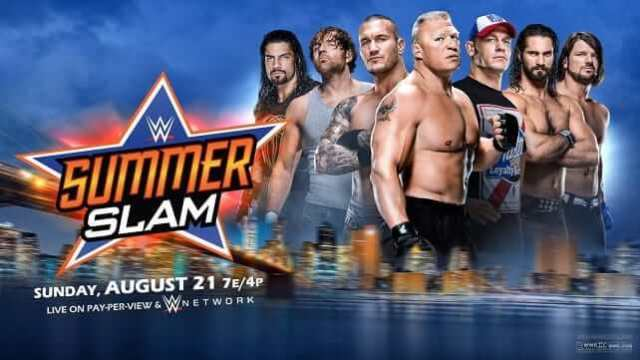 Watch WWE SummerSlam 2016 8/21/2016 Full Show Online Free