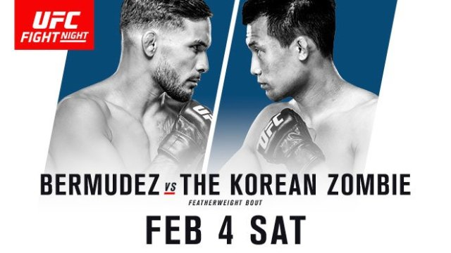 Watch UFC Fight Night 104: Bermudez vs. Korean Zombie 2/4/2017 Full Show Online Free