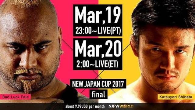 Watch NJPW New Japan Cup 2017 Semi-finals Full Show Online Free