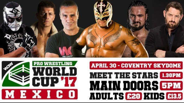 Watch WCPW Pro Wrestling World Cup Mexican Qualifying Round 4/30/2017 Online Free