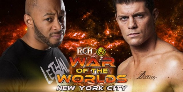 Watch ROH/NJPW War of the Worlds NYC 2017 Full Show Online Free