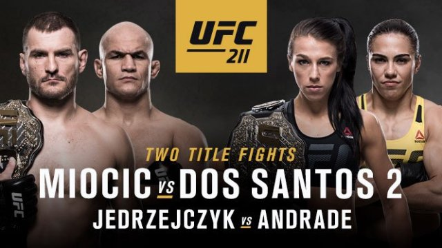 Watch UFC 211: Miocic vs Dos Santos 2 5/13/2017 PPV Full Show Online Free
