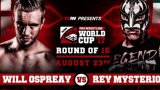 Watch WCPW Pro Wrestling World Cup Finals Night One 8/23/2017 Full Show Online Free