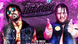 Watch CZW Night of Infamy 2017 11/11/2017 Full Show Online Free