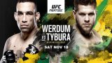 Watch UFC Fight Night 121: Werdum vs. Tybura 11/18/2017 Full Show Online Free
