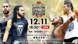 Watch NJPW World Tag League Finals 12/11/2017 Full Show Online Free