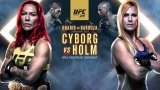 Watch UFC 219: Cyborg vs. Holm 12/30/2017 PPV Full Show Online Free