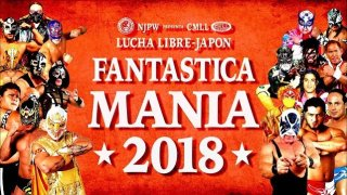 Watch NJPW CMLL Fantastica Mania 2018 Day 1 Full Show Online Free