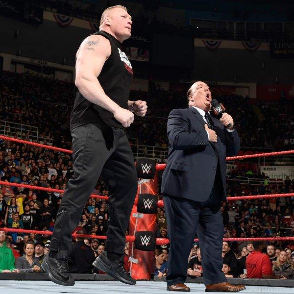Motor City Madman Wcw. Hulk Hogan. Hulk Hogan. Paul Heyman and Brock Lesnar