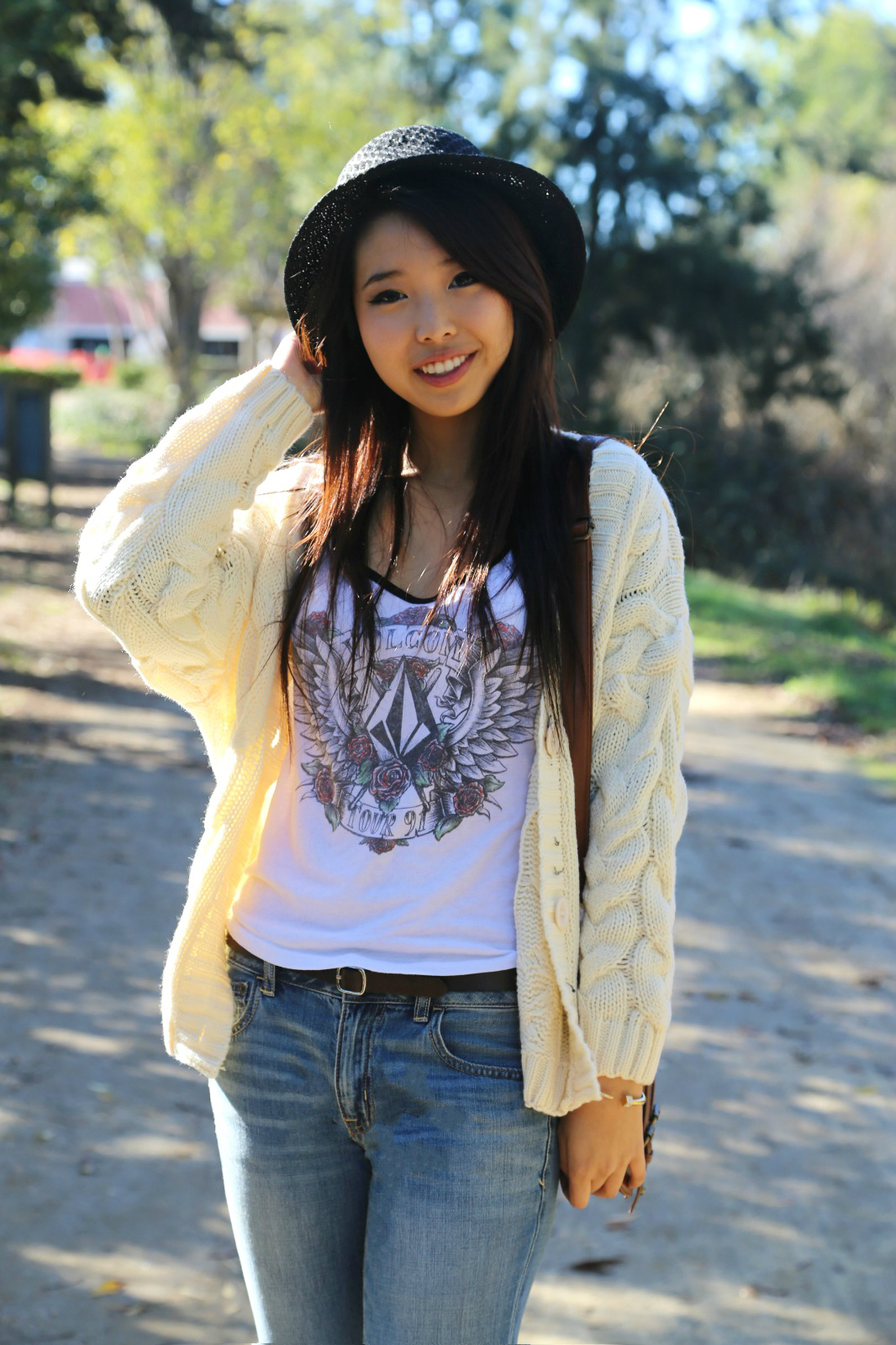 Cute Korean Style Wallpaper Winter In California Girl With The Blog