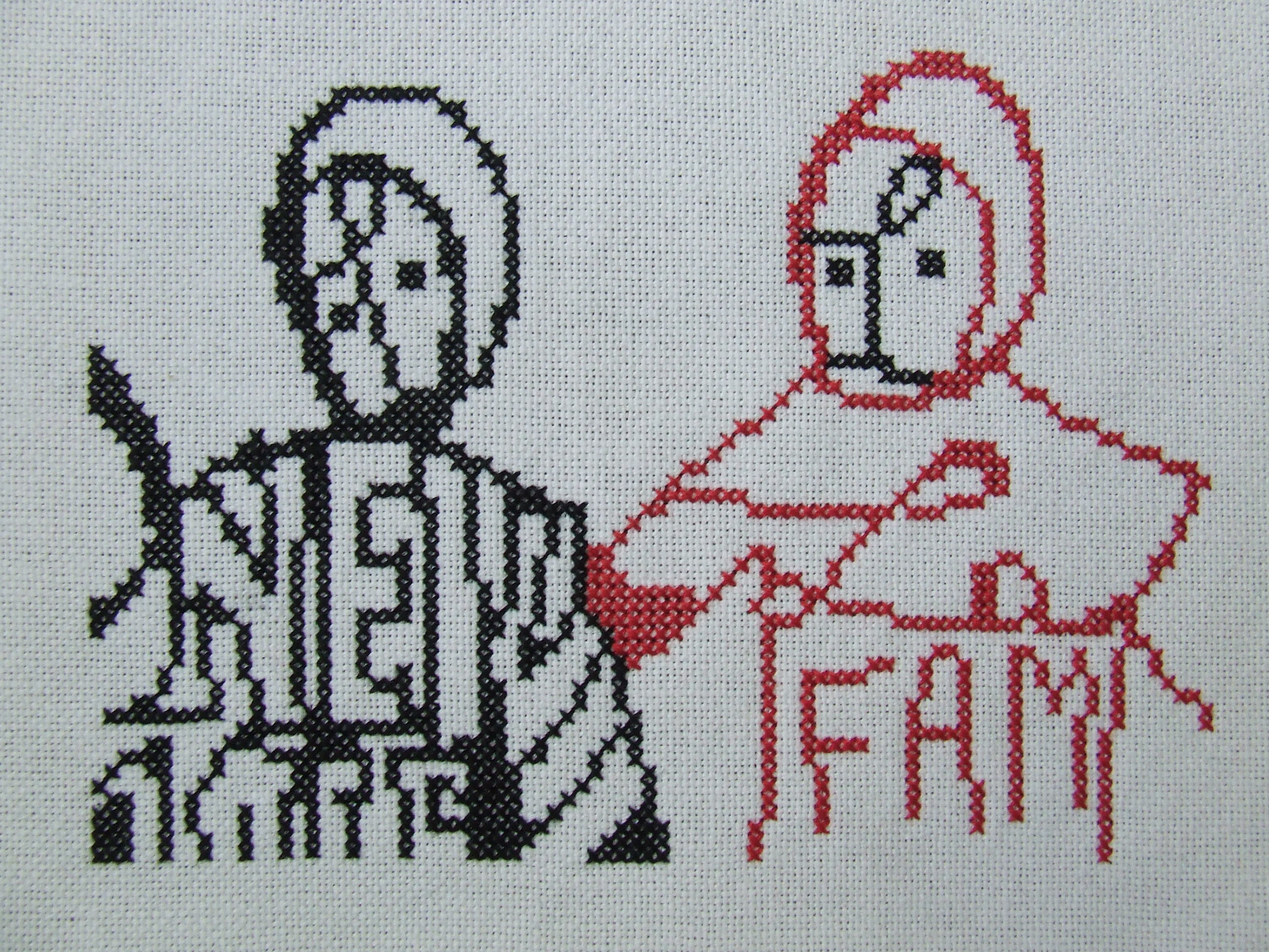Graffiti Cross Stitch