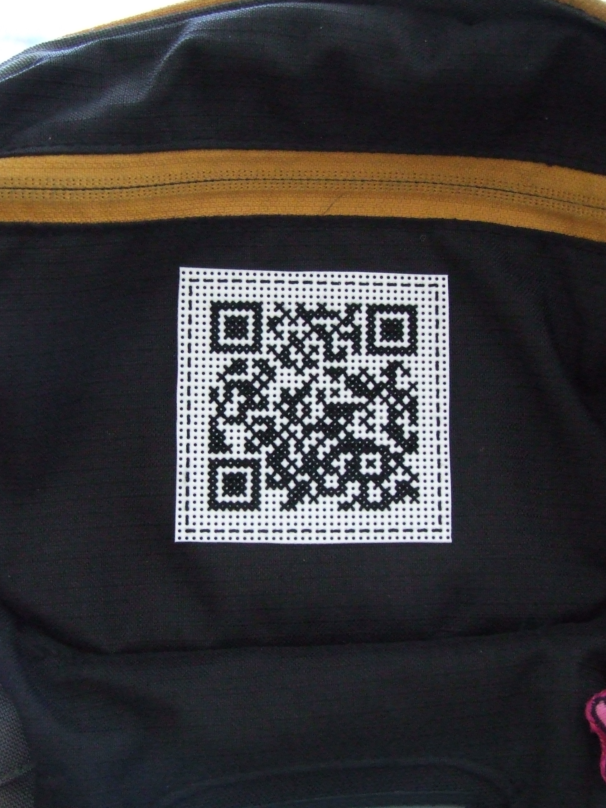 Cross Stitch QR Code
