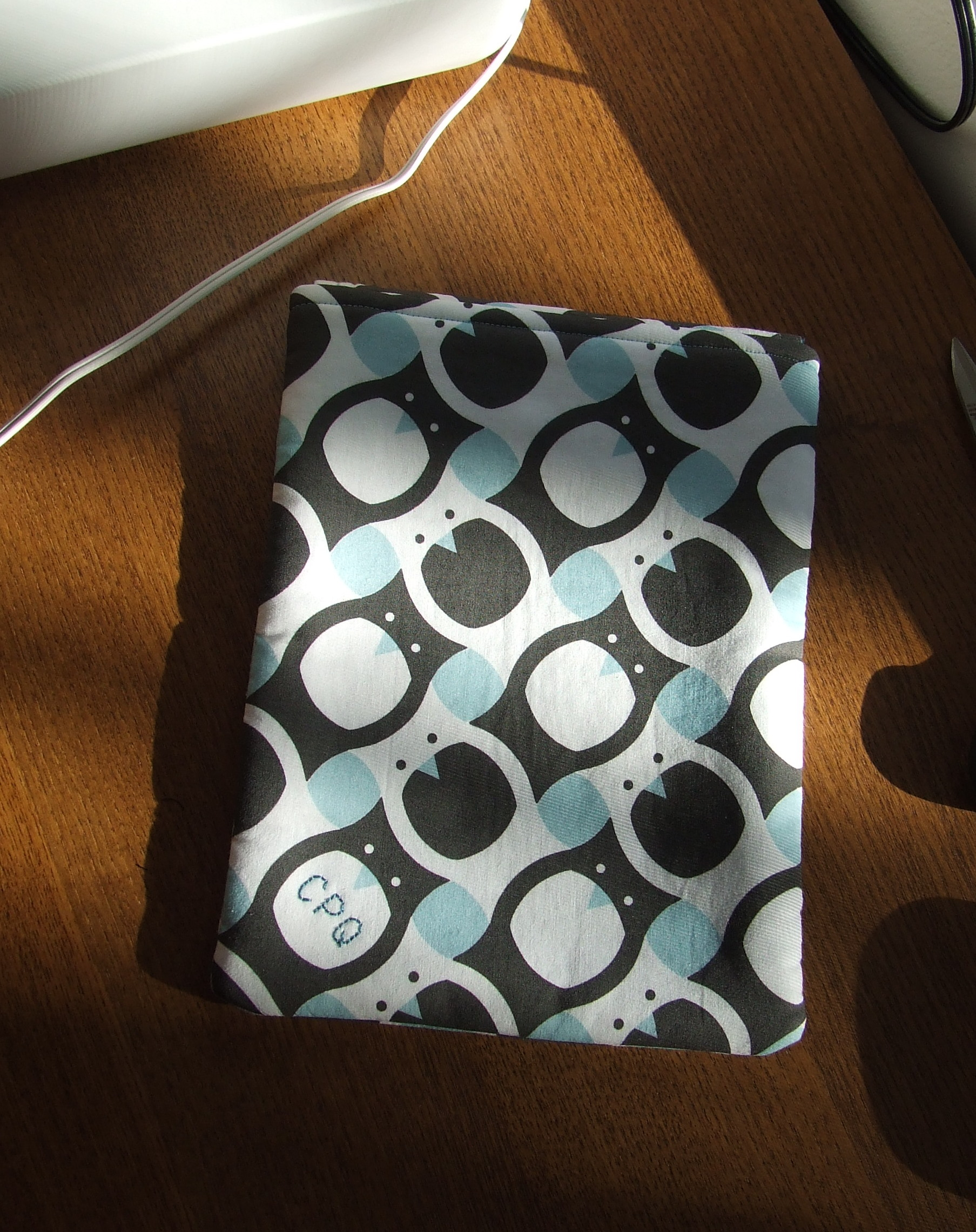 Tessellated Owl iPad Sleeve