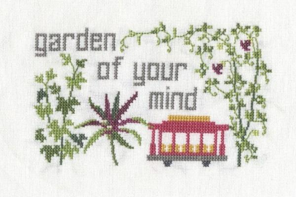 """""""Garden of Your Mind"""" Cross Stitch"""