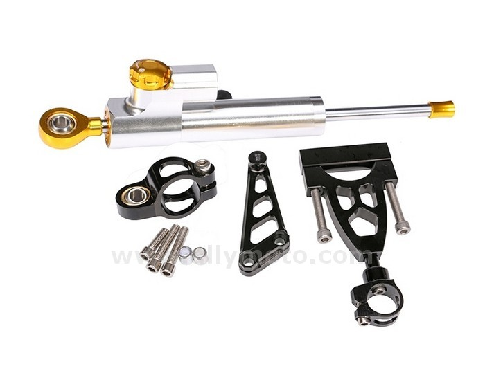 Cnc Steering Damper Honda Cb400 Vtec 1999-2012 W- Bracket Kits