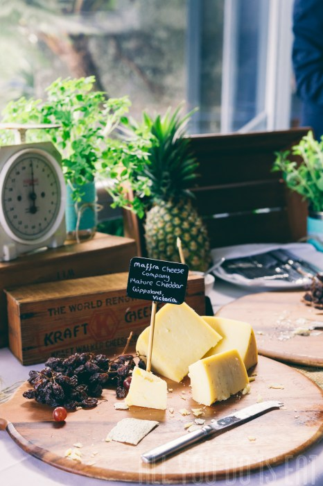 Foodie Wedding Cheese Station