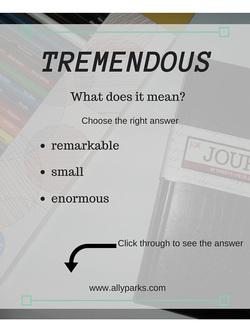 Vocabulary Worksheets Tremendous