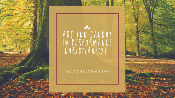 Are You Caught in Performance Christianity? title card