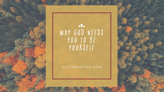 Why God Needs You to Be Yourself title card
